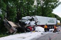 Tod im Elsass: Lahrer Lasterfahrer bei Unfall aus Kabine geschleudert