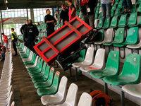 Vorfall im Schwarzwaldstadion hätte böse enden können