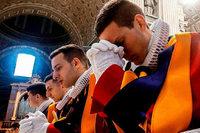 Wie es ist, in der päpstlichen Schweizergarde zu dienen