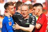 Der SC Freiburg sitzt weiter am Tisch der Reichen