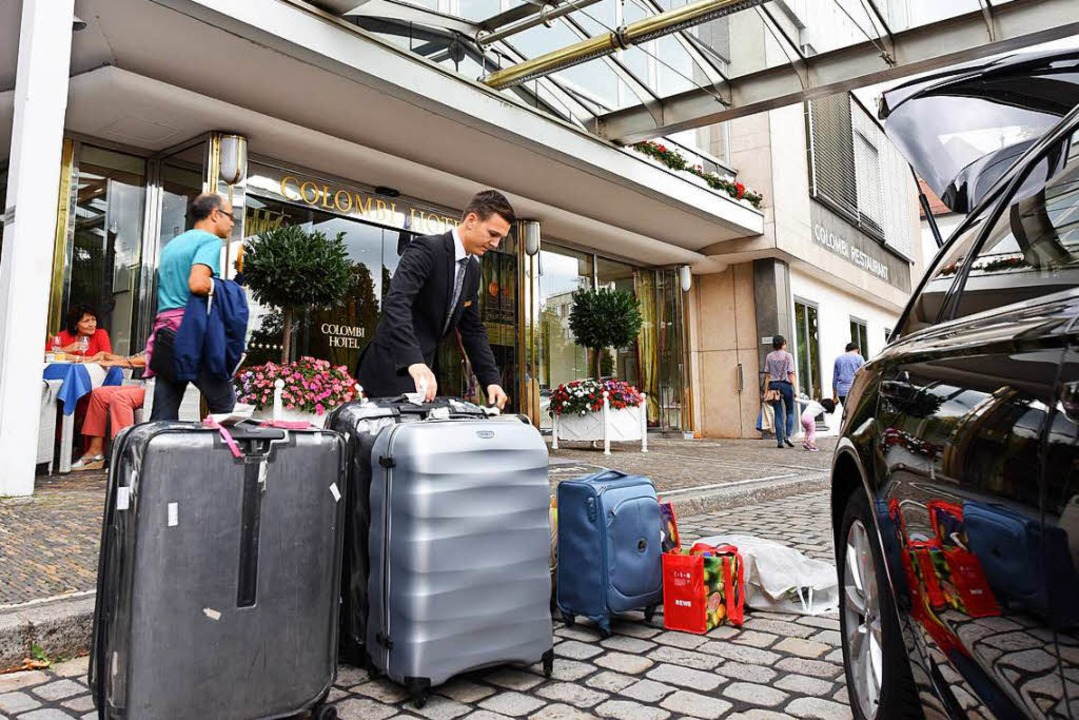 64 Hotels gibt es inzwischen in Freibu...as Colombi ist eines der bekanntesten.  | Foto: Rita Eggstein