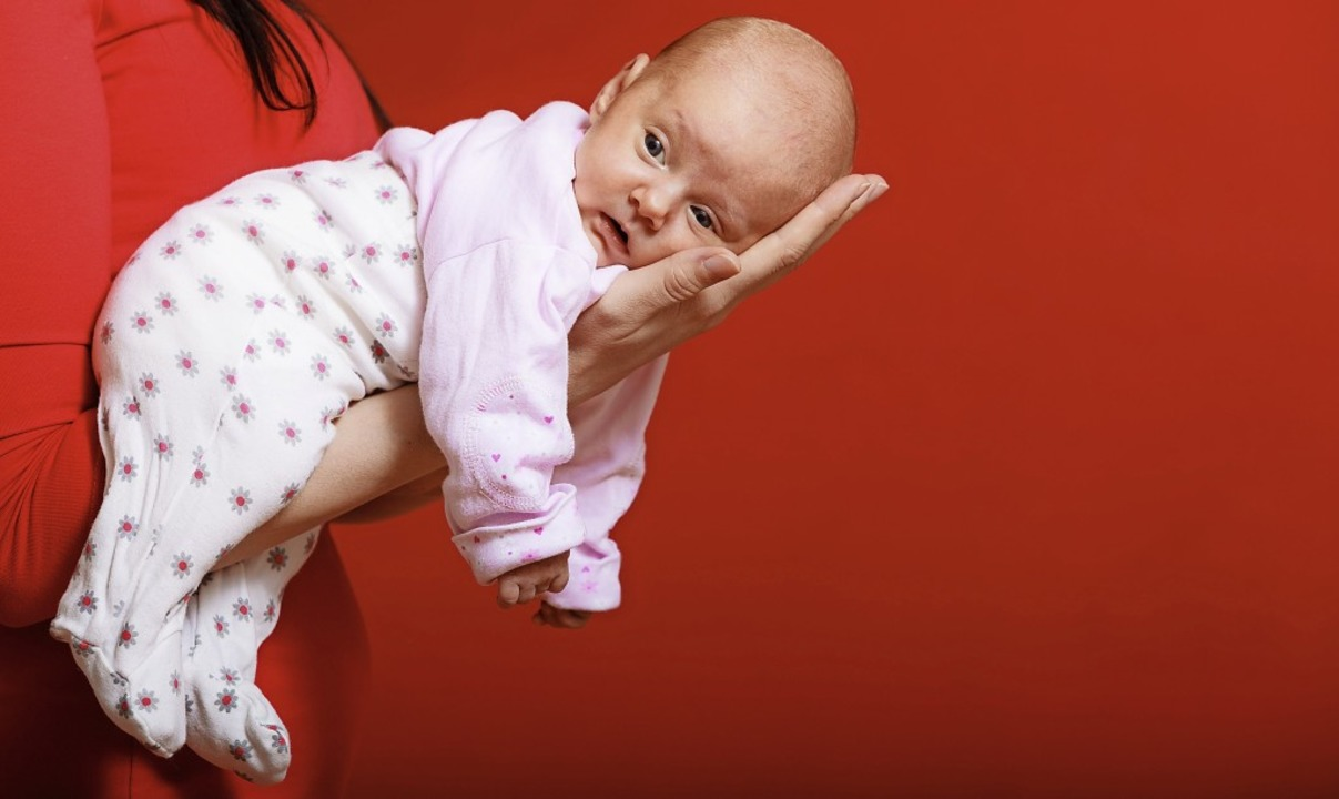 Hallo, hier bin ich! Meine Eltern  wüs...wie es  für unsere Familie weitergeht.  | Foto: Voyagerix - stock.adobe.com