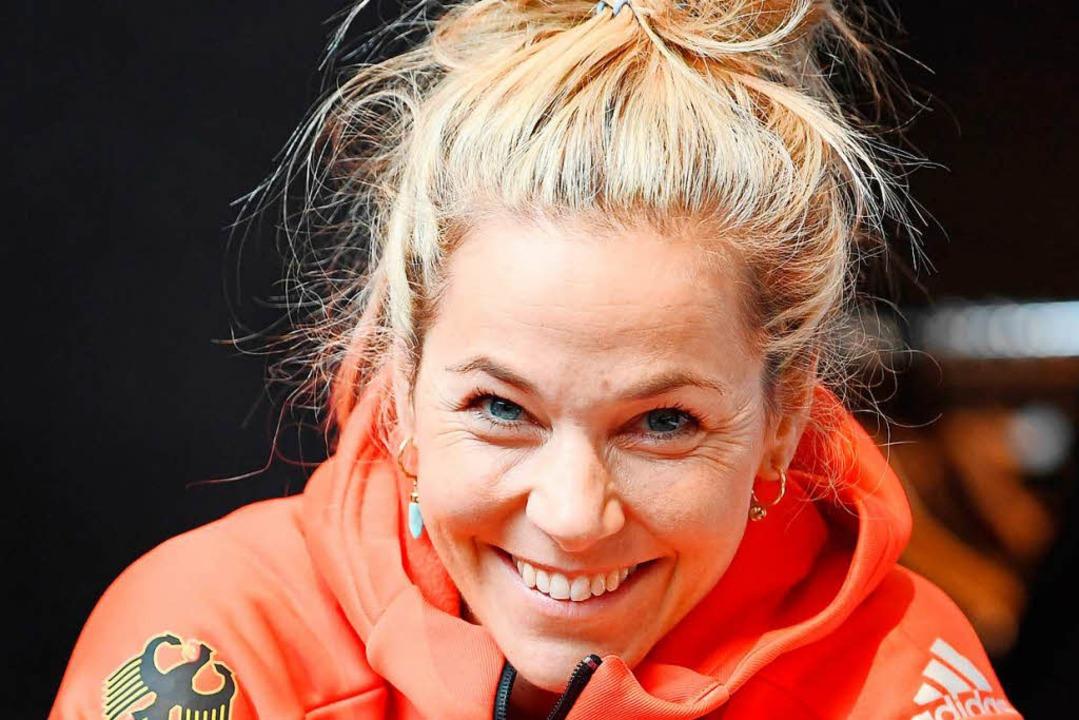 Das gewinnende Lächeln einer Hotzenwäl...e Karriere bis zum Frühjahr 2019 fort.  | Foto: dpa