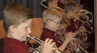 Jungmusiker gratulieren