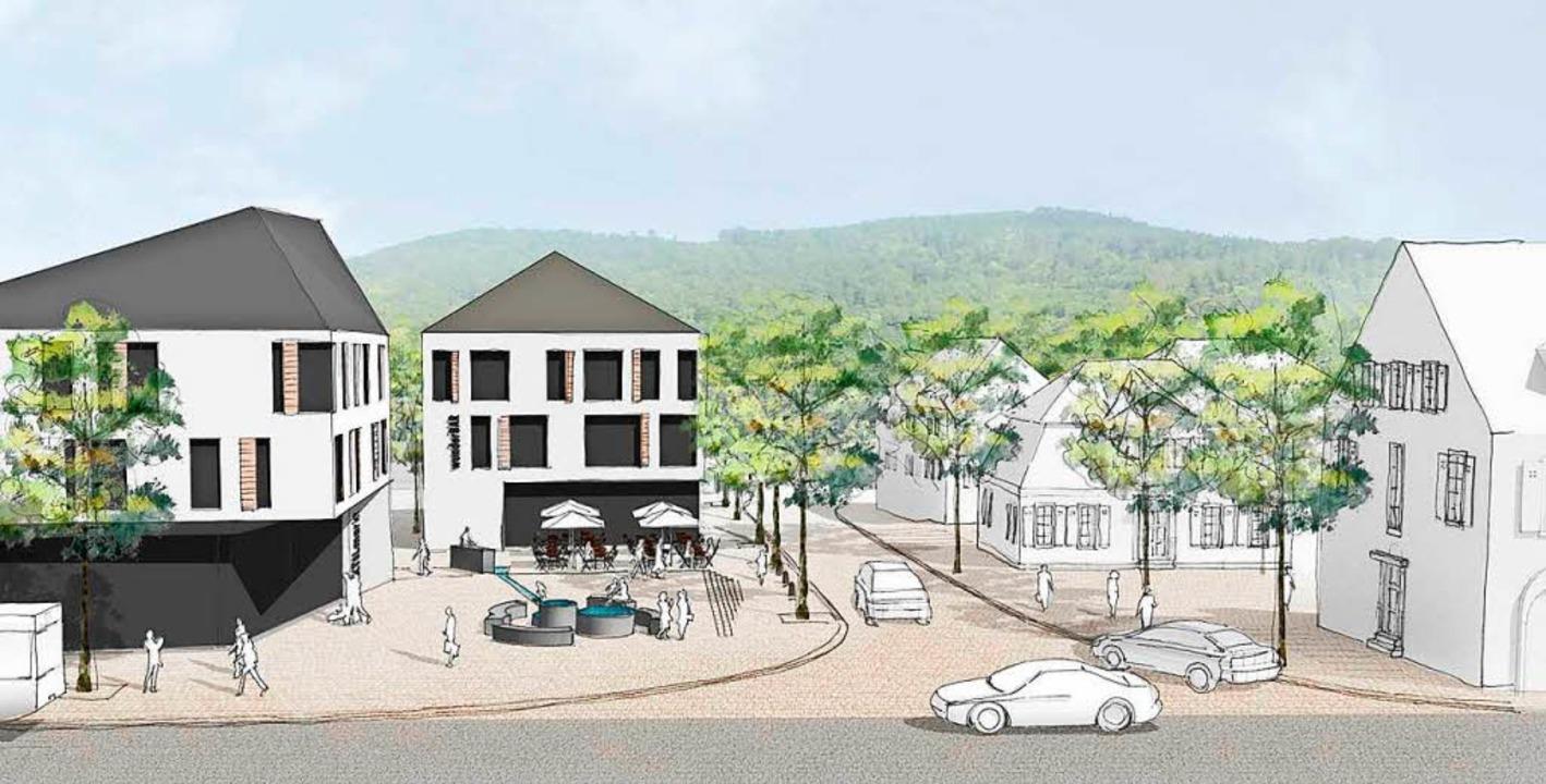 Das zweite Gebäude von links hätte ein...em neuen Brennet-Areal werden können.   | Foto: Stadt Wehr
