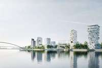 """Die trinationale Teilstadt """"3Land"""" soll auf dem Dreiländereck entstehen"""