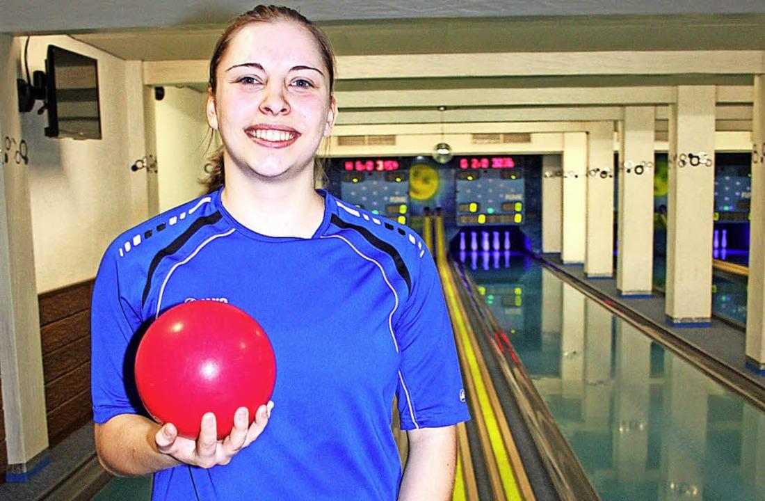 Stolze U23-Vizeweltmeisterin: Jana-Sophie Bachert   | Foto: bächle