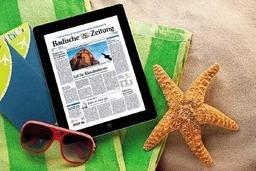 Digitale BZ gratis im Urlaub lesen