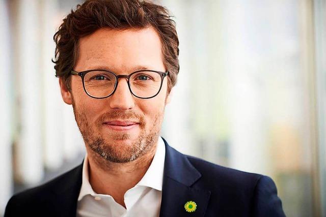 Europaabgeordneter Jan Philipp Albrecht: