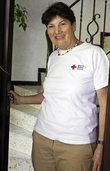 Die Mutmacherin beim Blutspenden