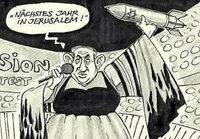 Hier Religion, dort Politik – warum eine Karikatur in der Süddeutschen Zeitung antisemitisch war