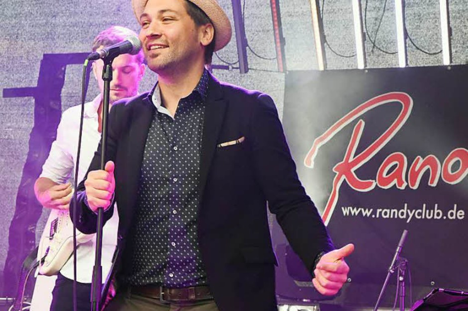 Randy Club Frontman Werner Möschle (Foto: Markus Zimmermann)