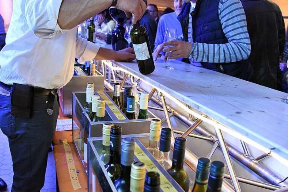 Flaschenparade (Foto: Markus Zimmermann)