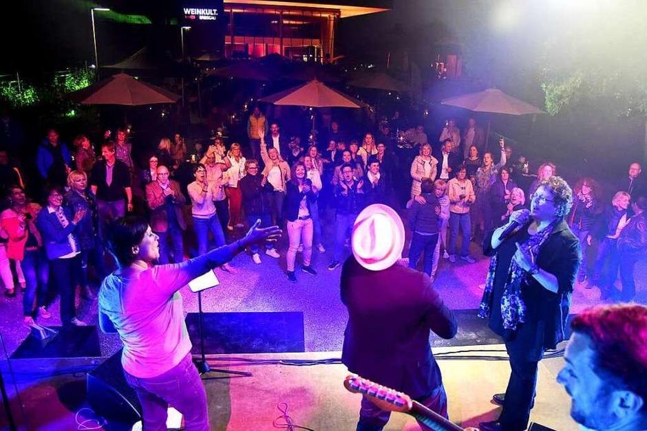 Randy Club baten Angela Mink auf die Bühne (Foto: Markus Zimmermann)