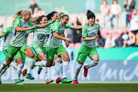 VfL Wolfsburg gewinnt das Pokalfinale im Elfmeterschießen