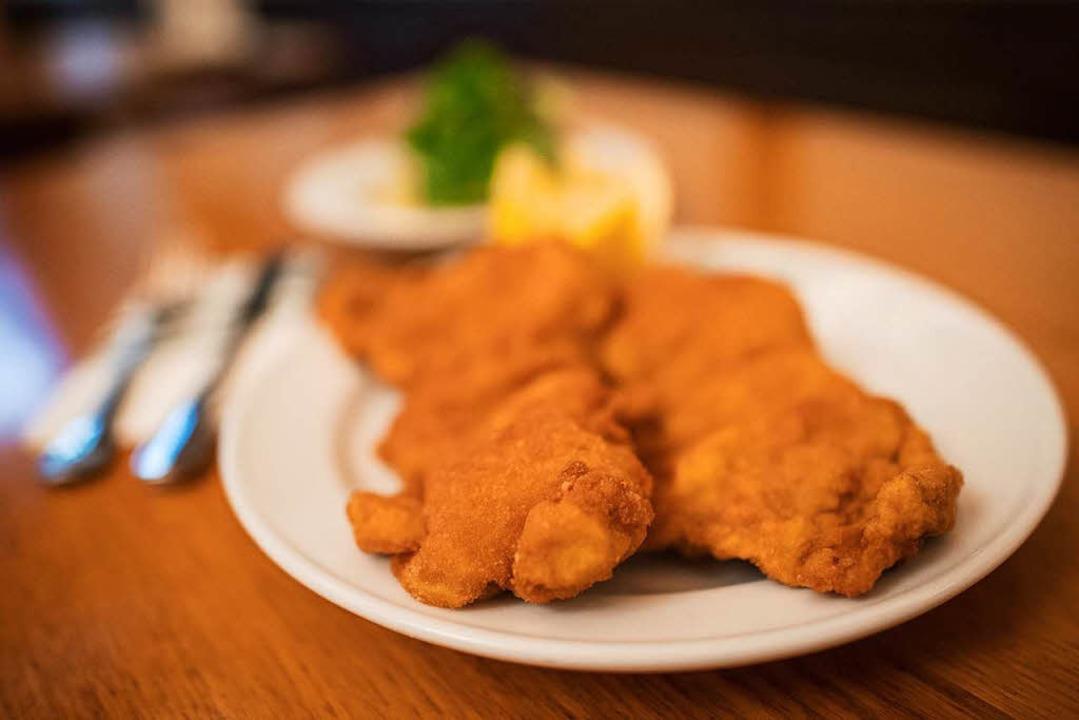 Wiener Schnitzel? Bloß nicht klopfen!  | Foto: dpa