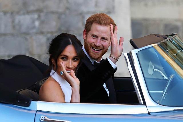 Prinz Harry und Meghan feiern Hochzeitsparty im kleineren Kreis
