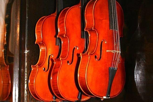 Raphael Voss baut und restauriert in Denzlingen Geigen