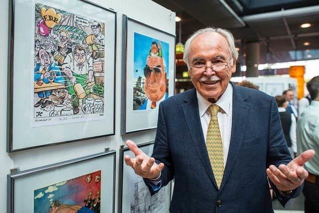 Süddeutsche Zeitung trennt sich von ihrem Karikaturisten Dieter Hanitzsch