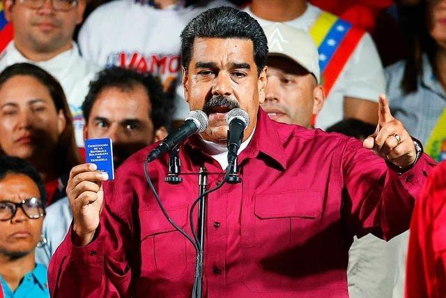 Venezuela: Wahlamt erklärt Maduro zum Sieger