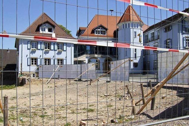 Verzögerungen bei der Baustelle in der Bad Krozinger Innenstadt