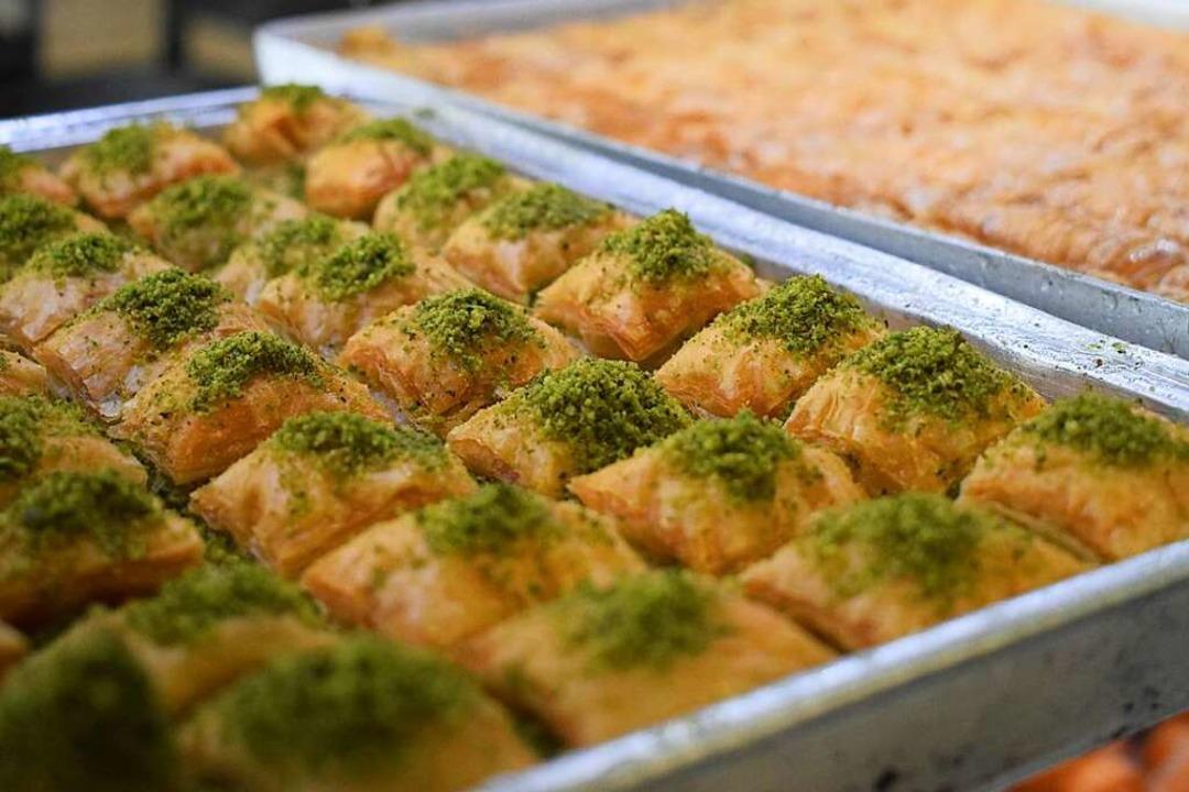 Orientalisch, verführerisch und sehr s...us dem Ofen der Heitersheimer Bäckerei    Foto: Frank Schoch