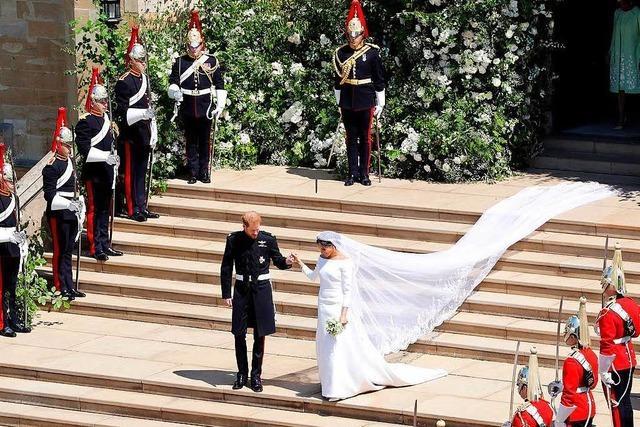 So romantisch war die Hochzeit von Prinz Harry und Meghan Markle