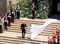 Fotos: So romantisch war die Hochzeit von Prinz Harry und Meghan Markle