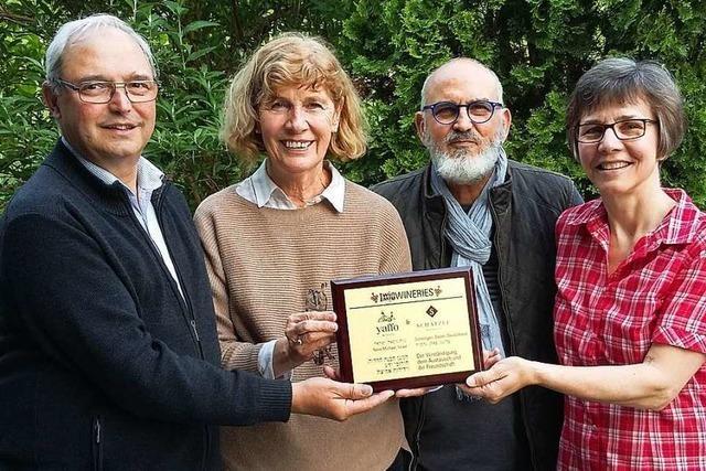 Eine deutsch-israelische Weinfreundschaft zwischen Schelingen und Neve Michael