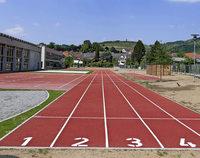Die neue Sportanlage an der Kaiserstuhlhalle ist bald fertig
