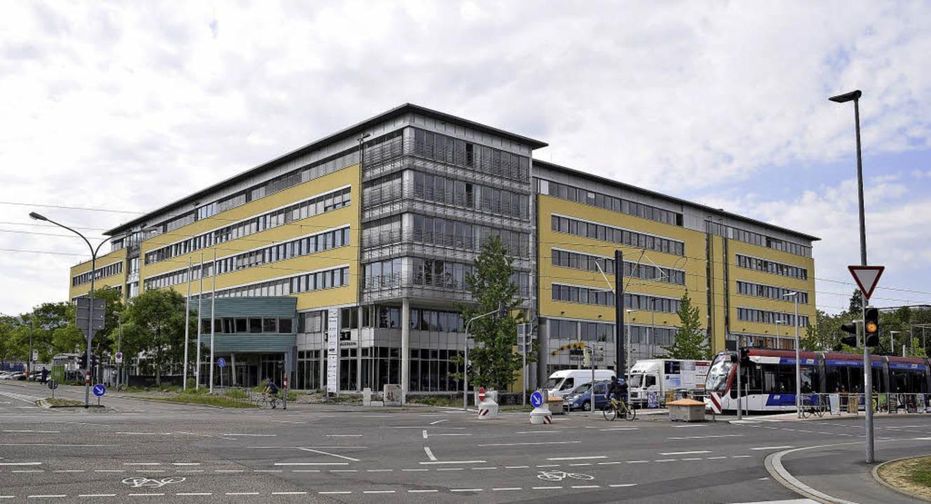 Das Solar-Info-Center befindet sich zw...r Technischen Fakultät und der Messe.   | Foto: Thomas Kunz