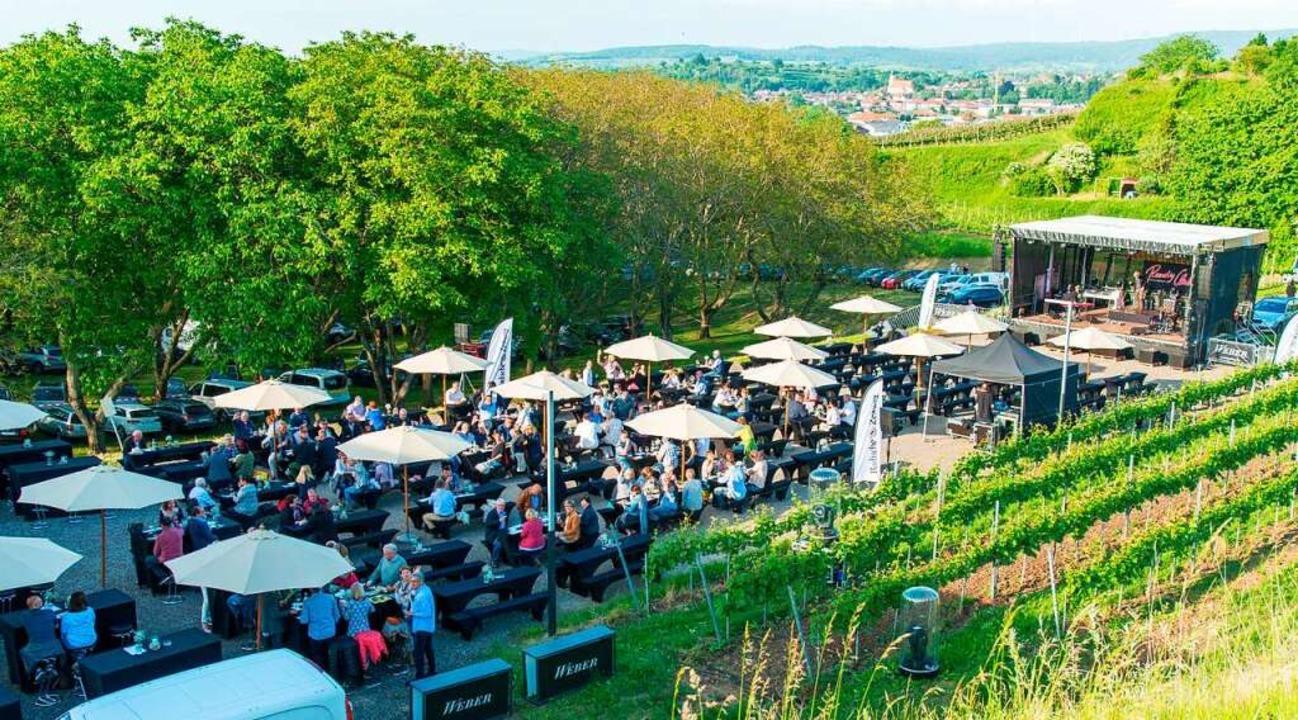 Ein Weingarten mitten in den Reben  | Foto: Olaf Michel