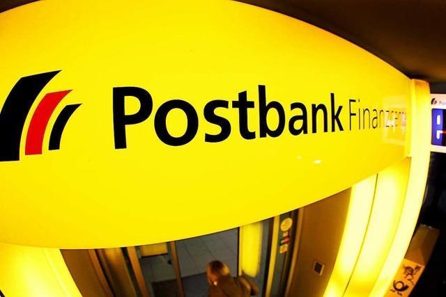 Die Postbank schließt jede zehnte Filiale