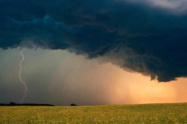 Ab Mittag: Gewitter, Starkregen und Hagel im Südwesten erwartet