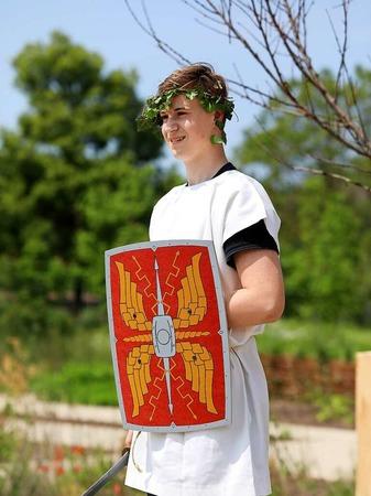 Musik, Theater, römische Köstlichkeiten und typische Handwerkskunst konnten die Besucher am Samstag auf der LGS erleben.