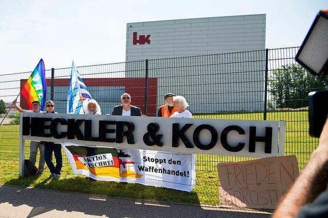 Demonstrationen, Bestechung und illegale Waffenexporte: Heckler & Koch kommt nicht zur Ruhe
