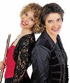 Miriam Terragni und Catherine Sarasin auf Schloss Bürgeln