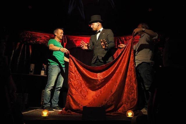 Magie im Zelt: fudder verlost Tickets für Circus of Illusions in Freiburg