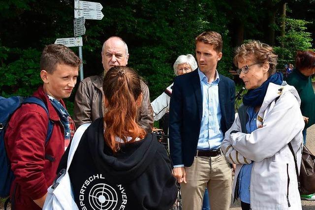 Gundelfinger Jugendliche suchen Platz für Hütte als Treffpunkt
