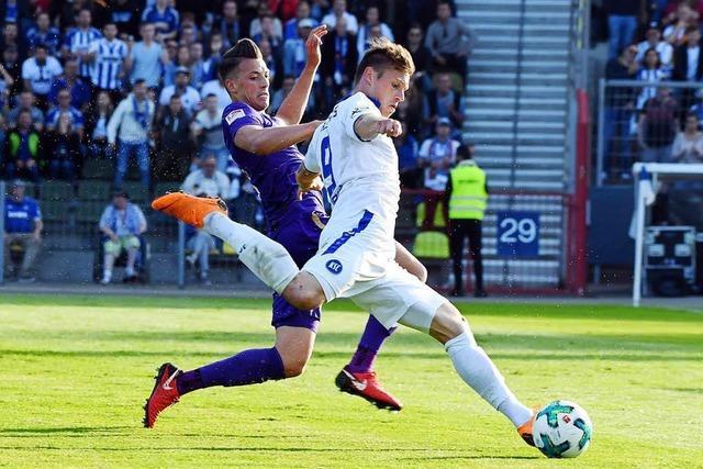 Karlsruher SC schafft den Aufstieg in die 2. Bundesliga nicht