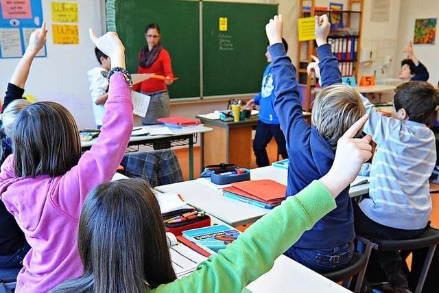 Mehr Kinder auf den weiterführenden Schulen im Regierungsbezirk Freiburg