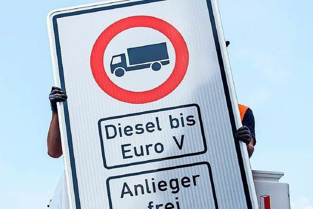 Erste Diesel-Fahrverbote in Hamburg ab 31. Mai