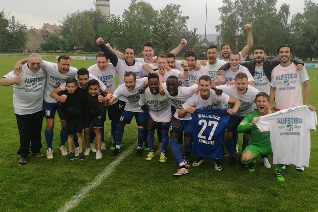 FC Waldkirch ist wieder zurück in der Verbandsliga