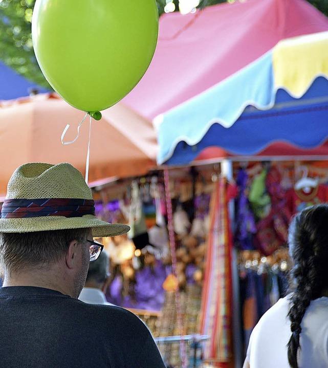 Das Cityfest in Rheinfelden ist eine bunte Sache.   | Foto: Horatio Gollin