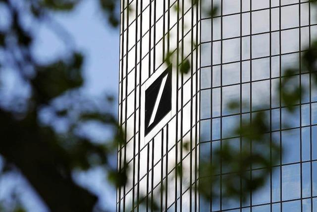 Baut Deutsche Bank 10 000 Jobs ab?