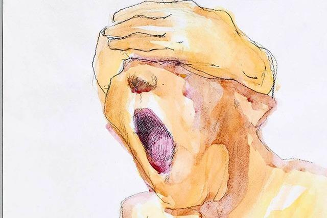 Arbeiten der Malerin Maria Lassnig im Kunstmuseum Basel