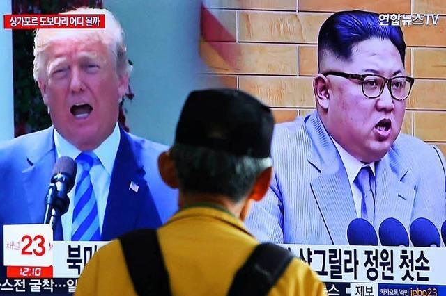 Nordkorea greift Pence an und droht wieder mit Gipfel-Absage