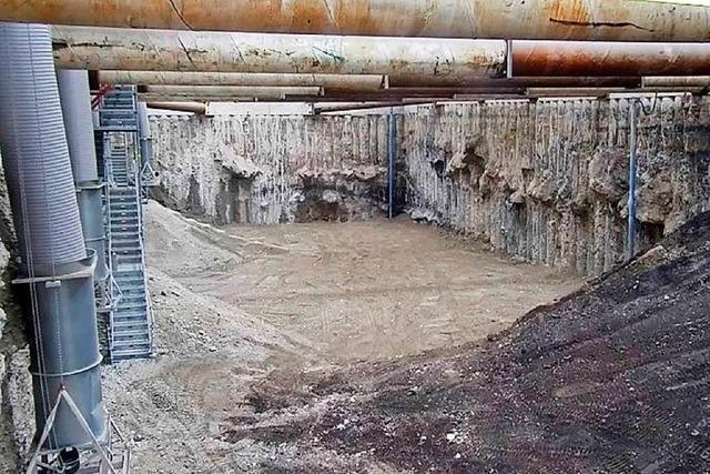 Kesslergrube: Das Baufeld Nord ist ausgehoben