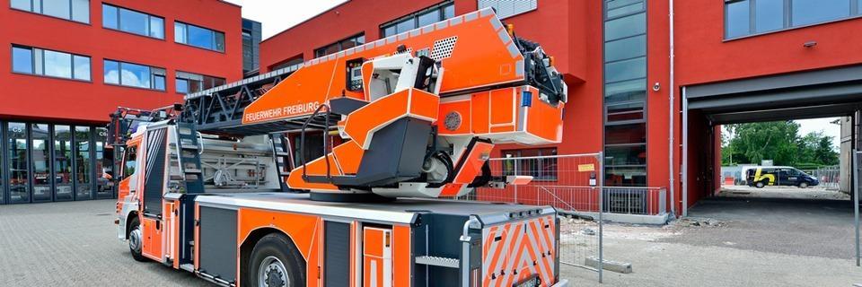 Die Freiburger Feuerwehr bezieht ihren acht Millionen Euro teuren Neubau