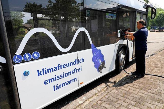 Elektrobusse: Prestigeträchtig, aber teuer